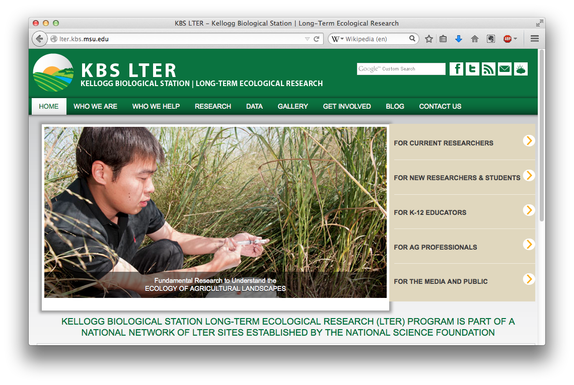 KBS Long-Term Ecological Research Program