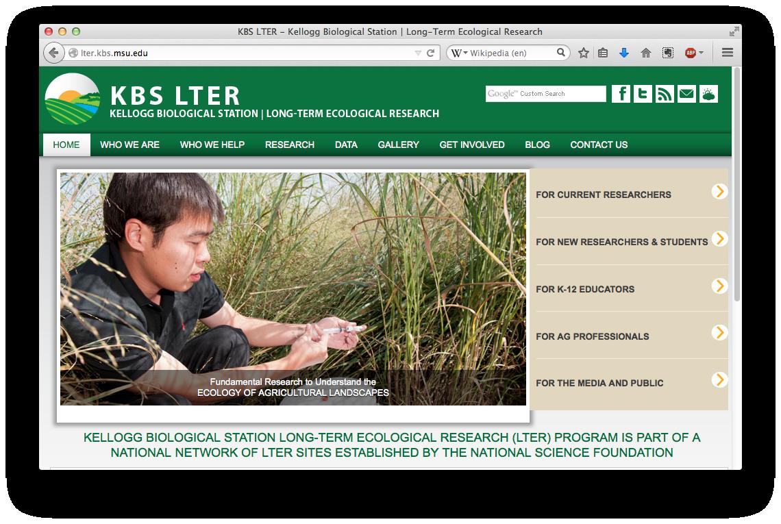 KBS Long-Term Ecological Research Program