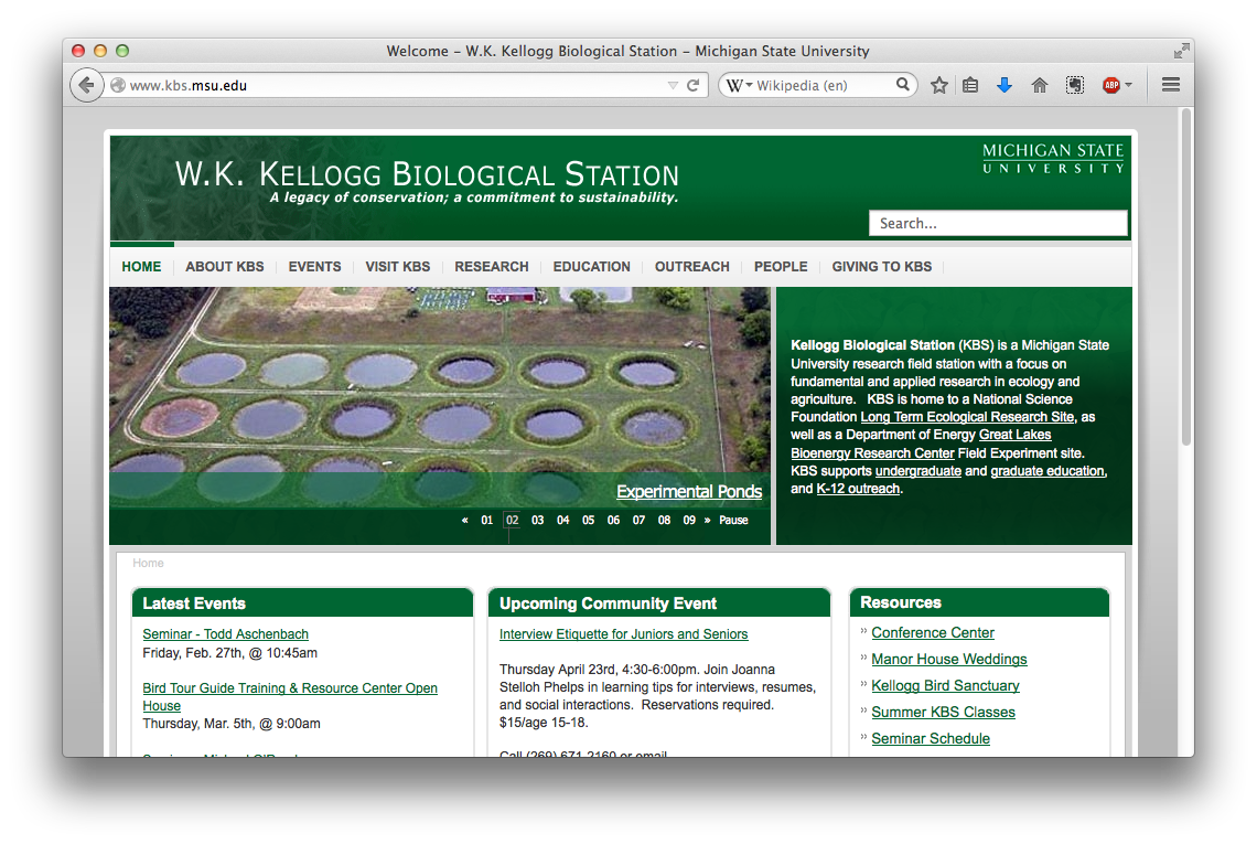 Kellogg Biological Station