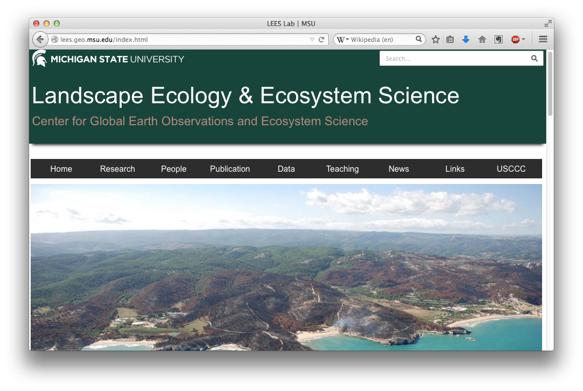 Landscape Ecology and Ecosystem Science