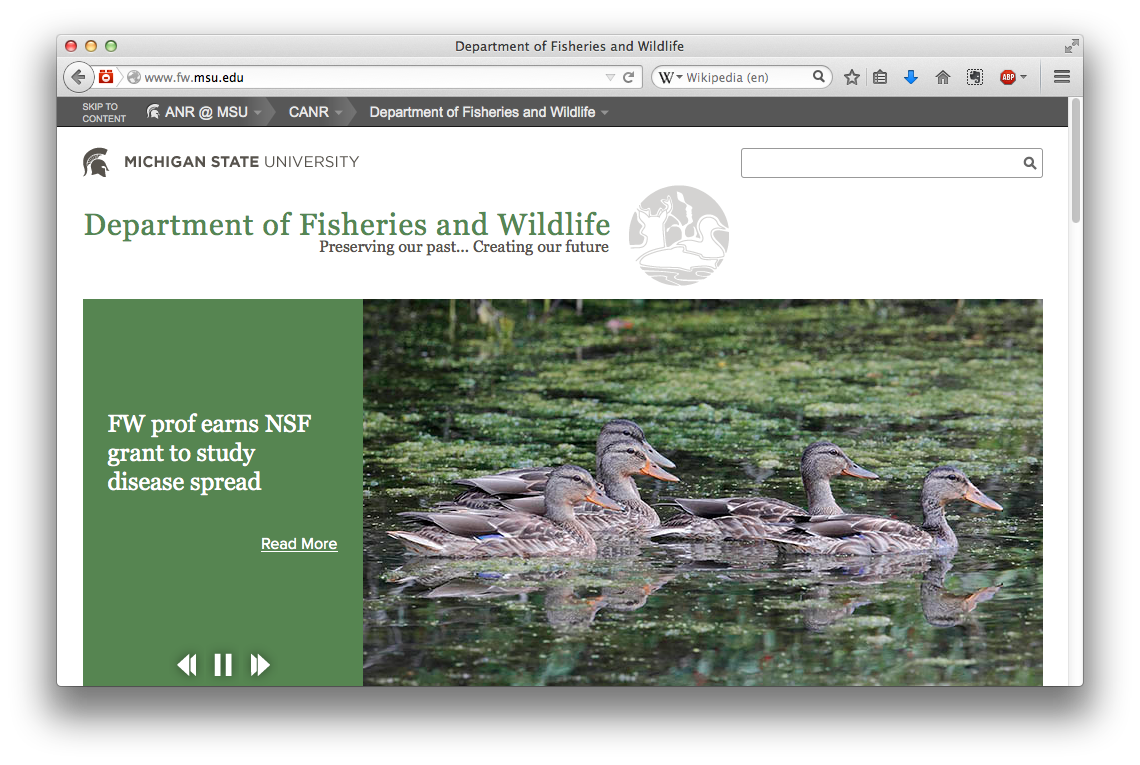Fisheries and Wildlife