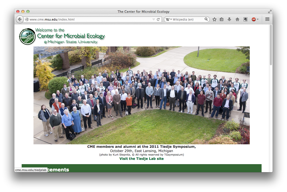 Center for Microbial Ecology